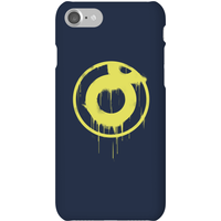 Ei8htball Spray Paint Yellow Print Phone Case for iPhone and Android - iPhone 7 - Snap Case - Gloss