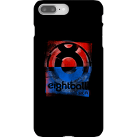 Ei8htball Messy Stencil Logo Phone Case for iPhone and Android - iPhone 8 Plus - Snap Case - Gloss