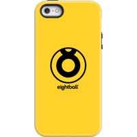 Ei8htball Large Circle Logo Phone Case for iPhone and Android - iPhone 5/5s - Tough Case - Matte