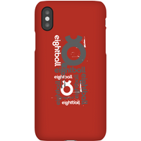 Ei8htball All Over Phone Case for iPhone and Android - iPhone X - Snap Case - Gloss