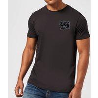 Captain Marvel Name Badge Men's T-Shirt - Black - L - Black