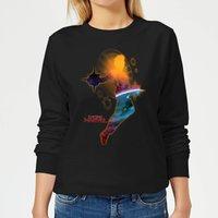 Captain Marvel Nebula Flight Women's Sweatshirt - Black - M - Black