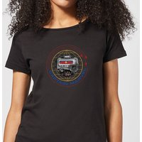 Captain Marvel Pager Women's T-Shirt - Black - L - Black