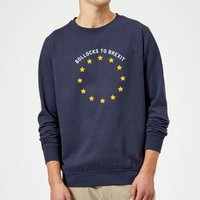 B*llocks To Brexit Sweatshirt - Navy - XXL - Navy