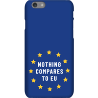 Nothing Compares To EU Phone Case for iPhone and Android - iPhone 8 - Tough Case - Gloss