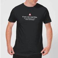 Standing Too Close, I Have A Boyfriend Mens T-Shirt - Black - L - Black