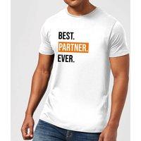 Best Partner Ever Men's T-Shirt - White - XL - White