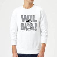 The Flintstones WILMA! Sweatshirt - White - XXL - White