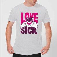 Looney Tunes Love Sick Sylvester Mens T-Shirt - Grey - XXL - Grey