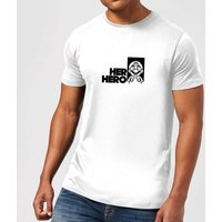 Super Mario Her Hero Mens T-Shirt - White - 3XL - White