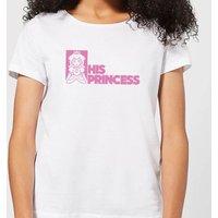 Super Mario His Princess Women's T-Shirt - White - M - White