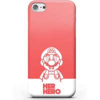 Super Mario Her Hero Phone Case for iPhone and Android - Samsung S10E - Snap Case - Matte