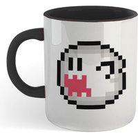 Super Mario Be My Boo Mug - White/Black