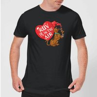 Scooby Doo Ruv Is In The Air Men's T-Shirt - Black - S - Black