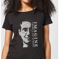 Imagine There's No Europe Women's T-Shirt - Black - S - Black