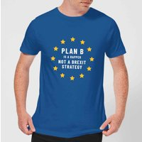 Plan B Is A Rapper Men's T-Shirt - Royal Blue - M - royal blue