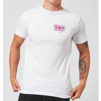 I Love Unicorns Men's T-Shirt - White - L - White