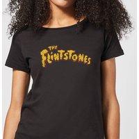 The Flintstones Logo Women's T-Shirt - Black - XXL - Black