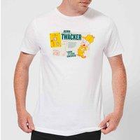 Looney Tunes ACME Twacker Men's T-Shirt - White - 3XL - White