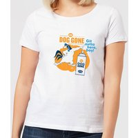 Looney Tunes ACME Dog Gone Women's T-Shirt - White - XL - White