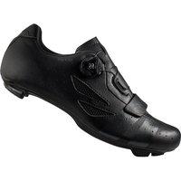 Lake CX176 Wide Fit Road Shoes - Black/Grey - EU 42
