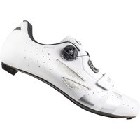 Lake CX218 Carbon Road Shoes - White/SIlver - EU 39