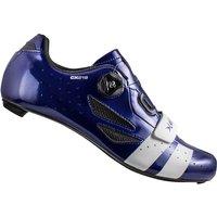 Lake CX218 Carbon Road Shoes - Navy Blue/White - EU 41