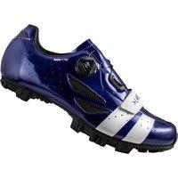 Lake MX176 MTB Shoes - Navy Blue/White - EU 47