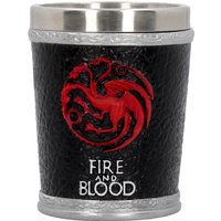 Game of Thrones - Fire and Blood Shot Glass - Glass Gifts