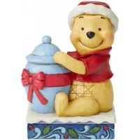 Disney Traditions Holiday Hunny (Winnie the Pooh Christmas Figurine)