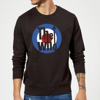 The Who Target Sweatshirt - Black - XXL - Black
