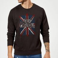 Sex Pistols Union Jack Sweatshirt - Black - 5XL - Black - Sex Gifts