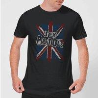 Sex Pistols Union Jack Men's T-Shirt - Black - S - Black