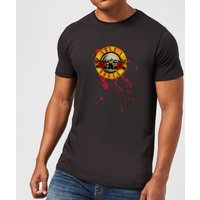 Guns N Roses Bloody Bullet Men's T-Shirt - Black - L - Black