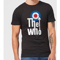 The Who Target Logo Men's T-Shirt - Black - XXL - Black