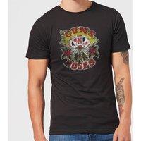 Guns N Roses Cards Men's T-Shirt - Black - 5XL - Black