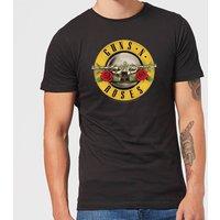 Guns N Roses Bullet Men's T-Shirt - Black - L - Black