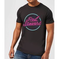 Rod Stewart Neon Men's T-Shirt - Black - L - Black