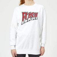 Queen Flash Women's Sweatshirt - White - XXL - White