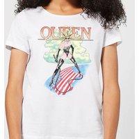 Queen Vintage Tour Women's T-Shirt - White - 5XL - White