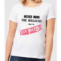 Sex Pistols Never Mind The B*llocks Women's T-Shirt - White - L - White