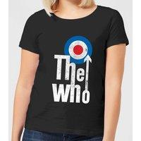 The Who Target Logo Women's T-Shirt - Black - L - Black