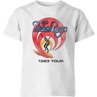 The Beach Boys Surfer 83 Kids' T-Shirt - White - 5-6 Years - White