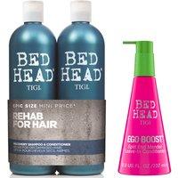 TIGI Bed Head Moisture Shampoo, Conditioner and Leave in Conditioner Set