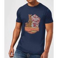 Scooby Doo Munchies Men's T-Shirt - Navy - XXL - Navy