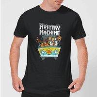 Scooby Doo Mystery Machine Heavy Metal Mens T-Shirt - Black - 3XL - Black