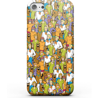 Scooby Doo Character Pattern Phone Case for iPhone and Android - Samsung S7 Edge - Snap Case - Matte