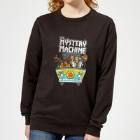 Scooby Doo Mystery Machine Heavy Metal Women's Sweatshirt - Black - XL - Black