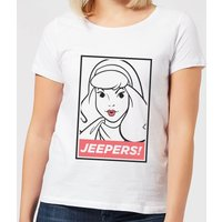 Scooby Doo Jeepers! Women's T-Shirt - White - XL - White