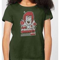 Scooby Doo Like, Groovy Man Women's T-Shirt - Forest Green - XXL - Forest Green